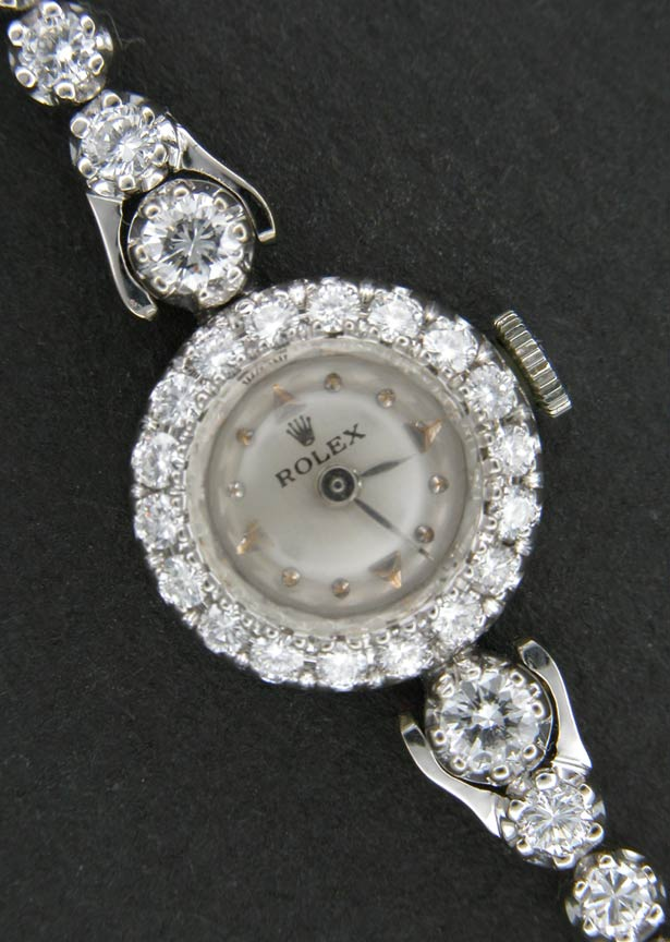 Ladies Diamond Rolex Watch