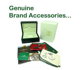 QualityTyme.net is proud to offer the largest selection of Genuine Watch Accessories from watch manufacturers like Rolex, Patek Philippe, Omega, Breitling, and MORE!!