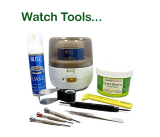 We offer a wide selection of Watch Tools and Cleaners.