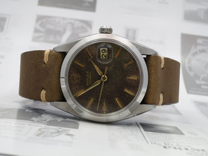 Watches For Sale... 1968 ROLEX OYSTERDATE, STAINLESS STEEL ...